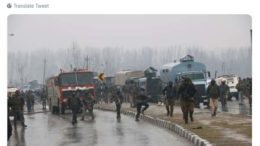 suicide terror attack on paramilitary forces convoy in Pulwama